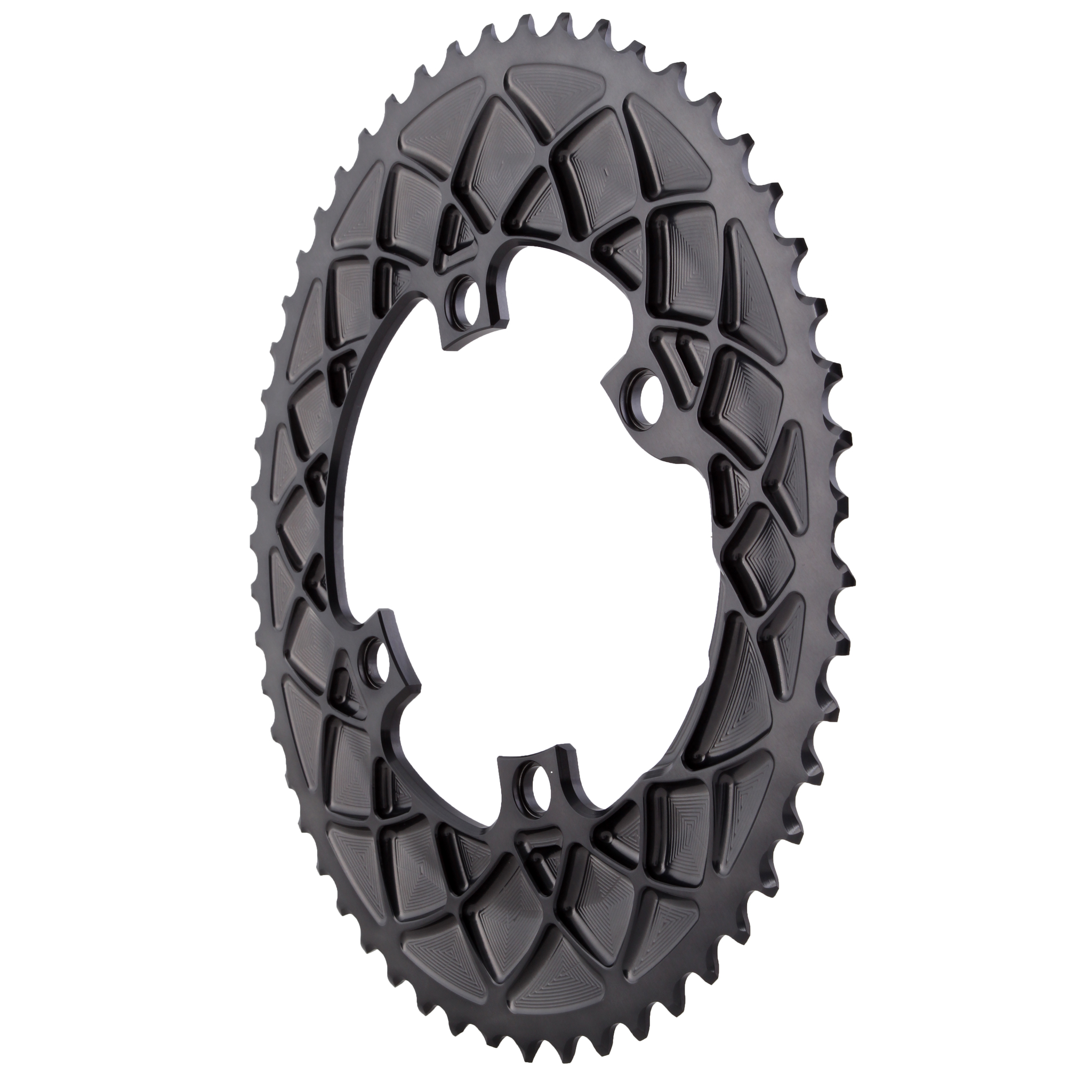 b4c9e0cce18 Absolute Black Premium oval road 53T, Shimano 9100/8000 - grey ...