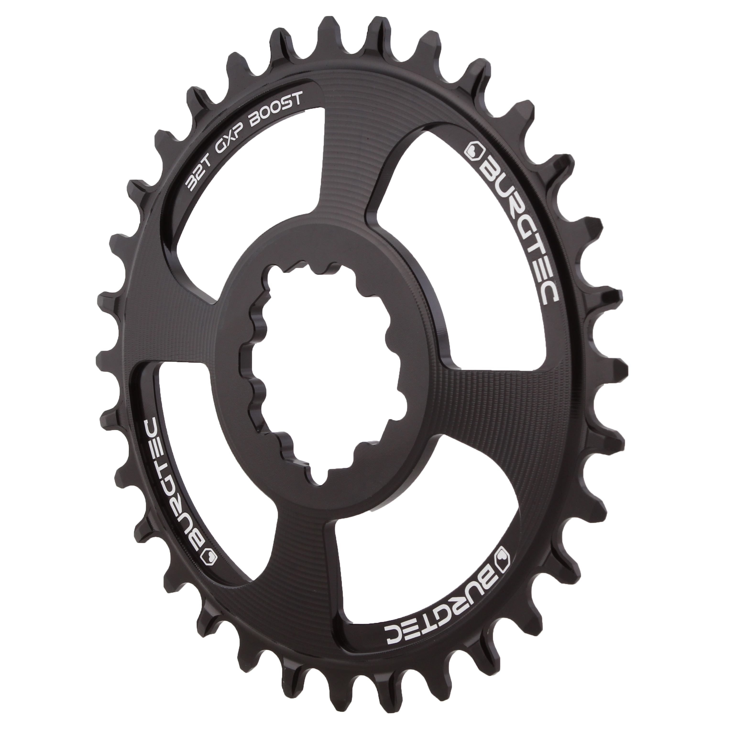 94//96BCD 32T black OneUp Components 94//96 oval chainring