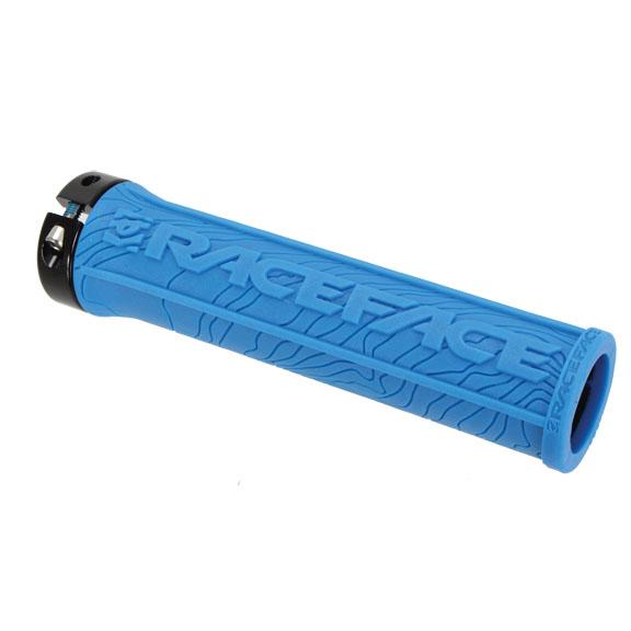 Race Face Half Nelson Lock-On MTB BMX Grips Blue AC990058