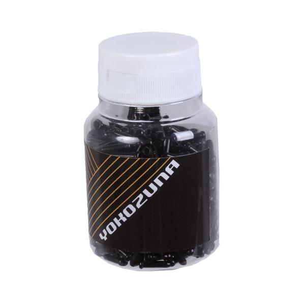Yokozuna  Cable final ondulaciones, 1.6mm Negro - 500 Botella  marca de lujo